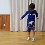 サッカー リフティング(小学2年女子 2017年1月)