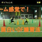 ディフェンスの面白い練習法&コーディネーショントレーニング【なぜ?がわかればサッカーが上手くなる!】出来ないが出来るに変わる魔法のトレーニング  soccer football traning