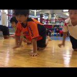 子どもの体幹トレーニング