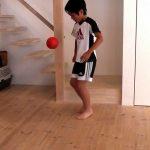 小学3年生サッカー リフティング(リフティングボール)