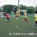 """エスパニョールキャンプ練習メニュー""""ボールポゼッション5対5+1フリーマン"""""""