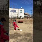 TRY IT! Soccer Football juggling 9-year-old ジュニアサッカー リフティング練習 小学3年生
